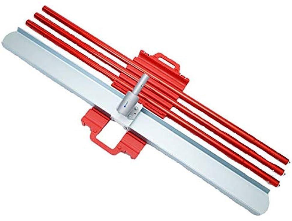 リフトスーパーマーケットクック友定建機 マグネシウムチャンネルフロート 153×1524L 専用ハンドル3本付 メーカー直送 代引不可
