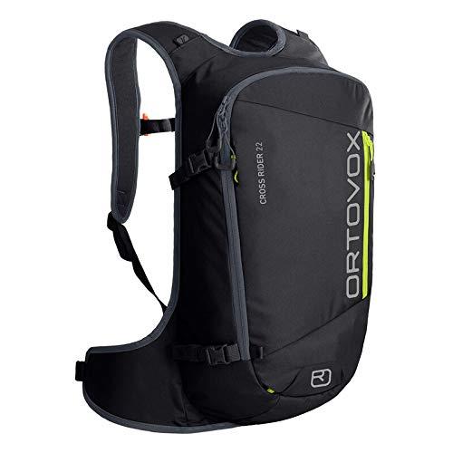 Ortovox Unisex_Adult Cross Rider 22 Freeride Backpack, Black Raven, litres