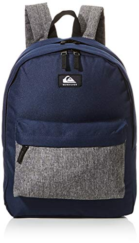 Quiksilver Mens Everyday Poster Double Backpack, Navy Blazer Heather, 1 SIZE