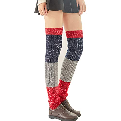 ITISME Socken Ballettstulpen mit Fersenloch - Overknee Damen Stulpen - 1 Paar Beinwärmer extralang bis Oberschenkel für Ballett, Fitness, Yoga, Pole Dance oder alle Tage