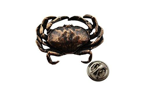 Dungeness crabピン~アンティーク銅~ラペルピン~サラのTreats & Treasures
