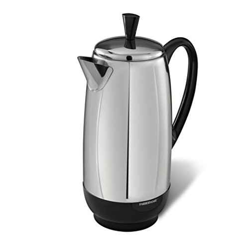 Farberware 12-Cup Stainless Steel Percolator - $41.99 (48% Off)