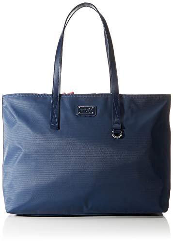 Mandarina Duck Damska stylowa torebka, rozmiar uniwersalny, niebieski - Sukienka niebieska - jeden rozmiar