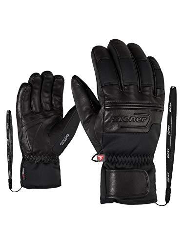 Ziener Herren GIPPO GTX INF PR Ski-Handschuhe/Wintersport   Sehr Warm, Atmungsaktiv, Primaloft, Soft-Shell, Black, 8