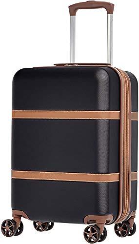 Maleta rígida ligera con el equipaje de mano...