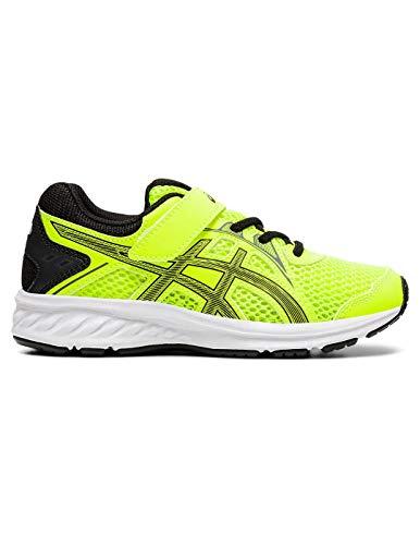 ASICS Unisex-Kinder Jolt 2 Ps Leichtathletik-Schuh, Sicherheit Gelb/Schwarz, 33.5 EU