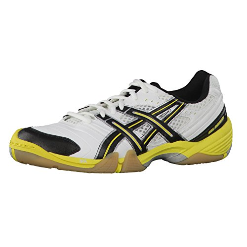 ASICS Zapatillas Gel-Domain Blanco/Negro/Amarillo EU 44.5