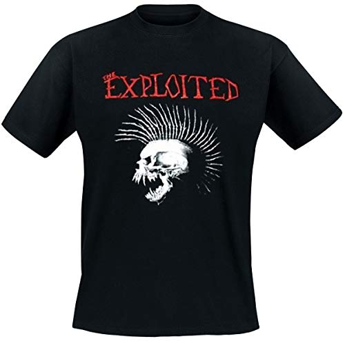 Official Merchandise Band T-Shirt - The Exploited - Beat The Bastards // Größe: L