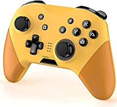 Cybermix Wired / Wireless Game Controller Compatible with Switch/Windows 7 8 10 PC/iOS/Android, For Nintendo switch Controller Joypad with NFC & Turbo Function, Support Gyro Axis and Dual Vibration