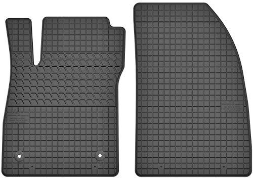 Gummimatten Vorne Gummi Fußmatten Satz für Opel Mokka (2012-2016) / Opel Mokka X (ab 2016) / Chevrolet Trax (ab 2013)- 2-teilig - Passgenau