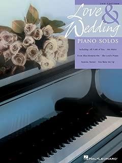 Love and Wedding Piano Solos: Upper Intermediate Level
