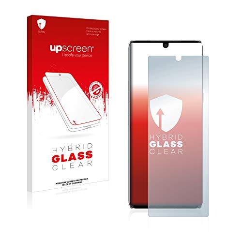 upscreen Hybrid Glass Panzerglas Schutzfolie kompatibel mit LG Velvet 9H Panzerglas-Folie