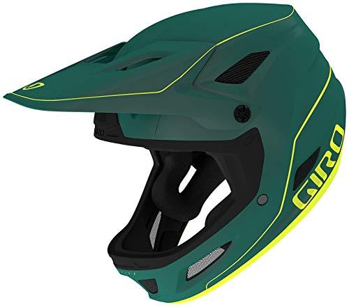 Giro Unisex– Erwachsene Disciple MIPS Fahrradhelm Dirt, Matte True Spruce/Citron, M | 57-59cm