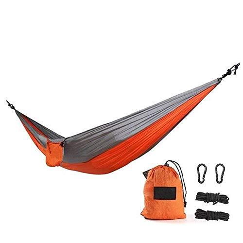 Camping hangmat Hangmat outdoor parachute doek draagbaar enkel dubbel camping binnenplaats strandreis (Color : Style 3, Size : 270 * 140cm)