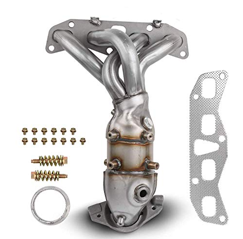 MOSTPLUS Front Exhaust Manifold Catalytic Converter w/Gasket Compatible for 2002 2003 2004 2005 2006 Nissan Altima 2.5L Replaces 674-659