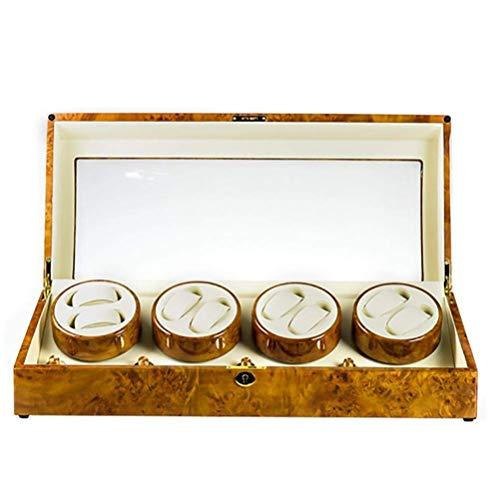 DFJU Enroladores de relógios para caixa de exibição automática de 8 relógios,...