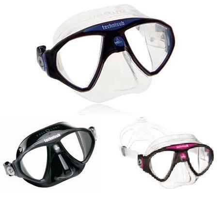 Aqualung Micromask - Zweiglasmaske -
