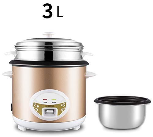Rijstkoker 5 l 4 l 3 l warmhouden functie spatel binnenpot van goud premium voor maximaal 12 personen rijst in maatbeker 3 liter.