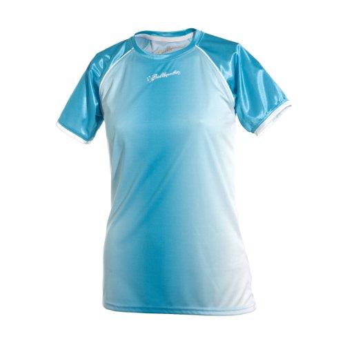 Ballzauber, Maglietta Donna Team 1, Blu (Serbia Blau), S