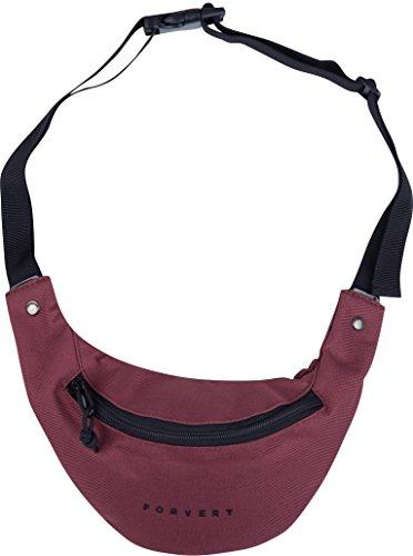 FORVERT Hip Bag Leon, burgundy, One Size