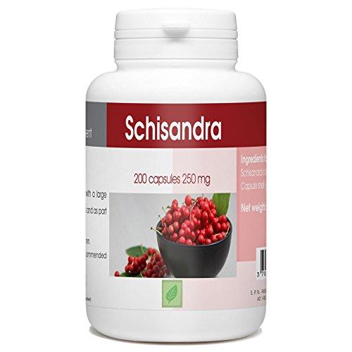 Schisandra - 250mg - 200 Capsules