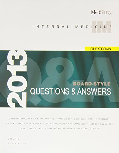 MedStudy Internal Medicine Board-Style Questions & Answers Package