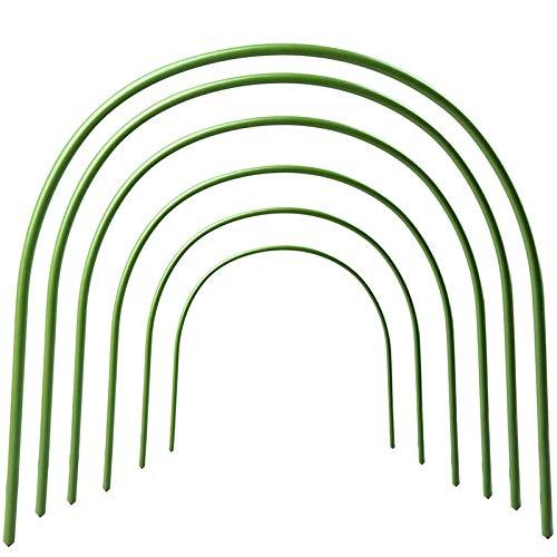 Luntus 6 Stücke Gew?chs Haus Ellenbogen Halterung Rost Frei Wachsen Tunnel Stütz Rahmen Kunststoff Beschichteter Garten Gemüse Pflanz Bogen