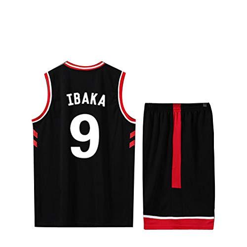Kyle Lowry Serge Ibaka Basketball Reversible 7 9 Toronto Raptors Basketball Trikot, Netz Polyester Tank Jersey Shirts (Jugend/Erwachsene)