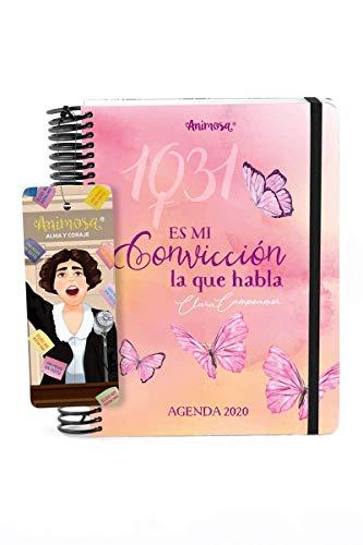Animosa - Agenda Anual 2020 Clara Campoamor Convicción