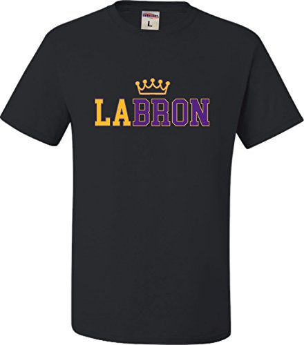 Go All Out Large Black Adult LABRON T-Shirt