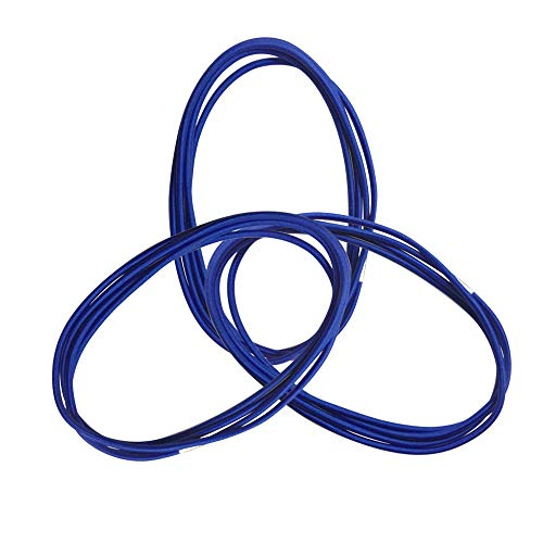4.9Ft Trash Can Bands Sets of 3, Elastic Band Loop for Outdoor 30-64 Gallon Garbage Can