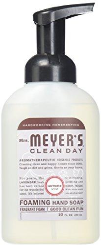Mrs. Meyers 10 fl oz Foam soap 10OZ Foam Hand Lavender (Pack of 6)