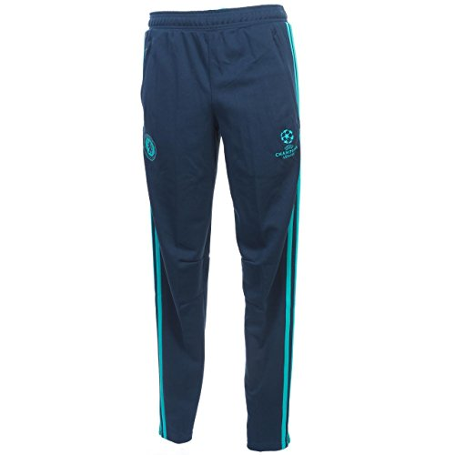 adidas Herren FC Chelsea UCL Trainingshose - blau Torwarthosen, Ricblu/Vivmin, S