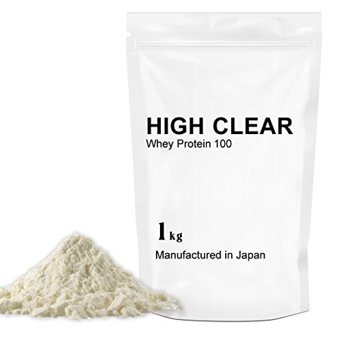 【100%無添加】WPCホエイプロテイン100 【40食分】1㎏ ナチュラル HIGH CLEAR
