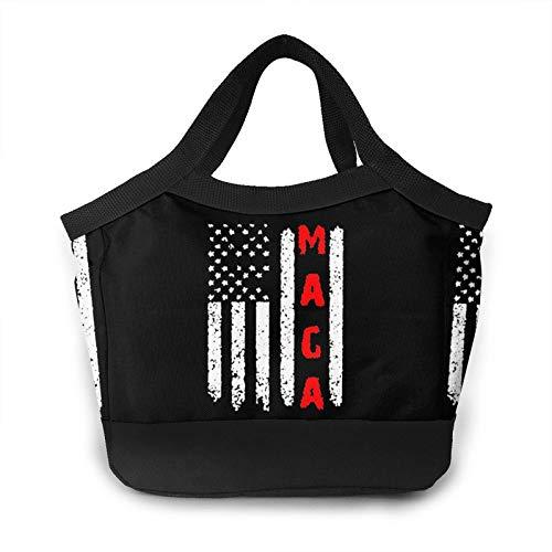 Make America Great Again MAGA - Bolsa de almuerzo portátil para mujer, aislada, a prueba de fugas, para escuela, trabajo, picnic