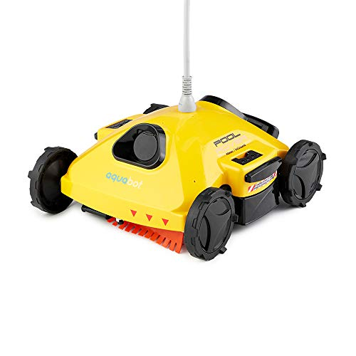 Best Review Of Aquabot AJET122 Pool Rover S2-50 Robotic Pool Cleaner for Above-Ground and Small In-G...