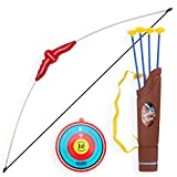 PeleusTech® Children Bow and Arrow Set Toy Bow and Arrow for Kids