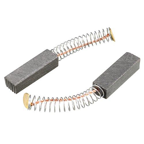 sourcingmap Spazzole in carbonio per motori elettrici 20mm x 6 mm x 5 mm parte di ricambio Set di 2