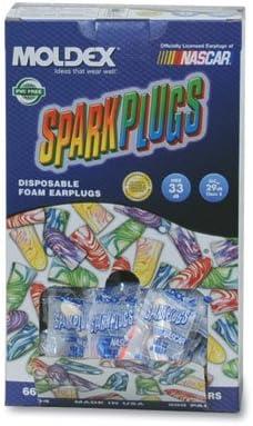 Limited price Sale Special Price sale Moldex Sparkplugs Earplugs in PlugStation Dispenser - Box Uncord