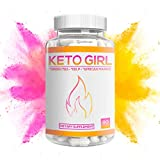 Keto Girl Diet Capsules – 1200 mg Keto Boost Pills for Women, Shark Tank Formula 10X Advanced Weight Loss w/Green Tea, Apple Cider Vinegar, Kelp to Burn Fat, Boost Energy, Enhance Focus 60 Cap