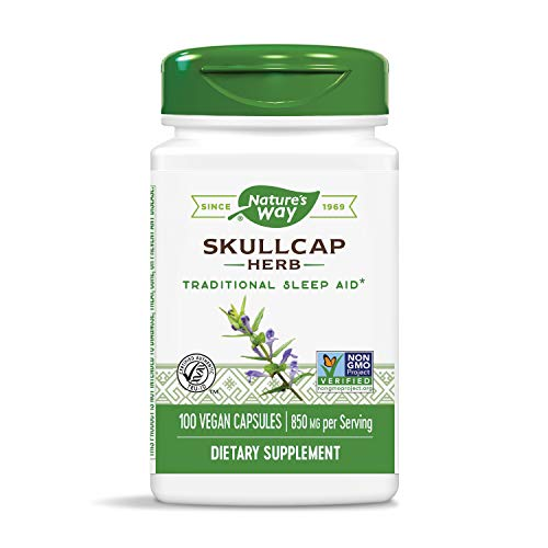 Nature's Way, Scullcap Kraut 425 mg, 100 Kapseln