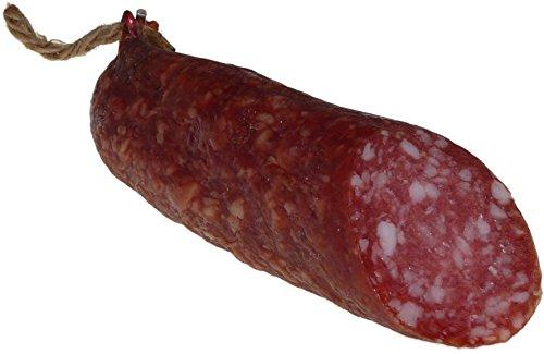 Schwarzwald Metzgerei - Mediterrane Salami - luftgetrocknet & mager mit einmaligem Geschmack, 1 Ring, 250g