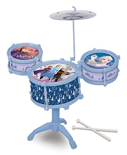 What Kids Want Frozen 2 Drum Kit Set