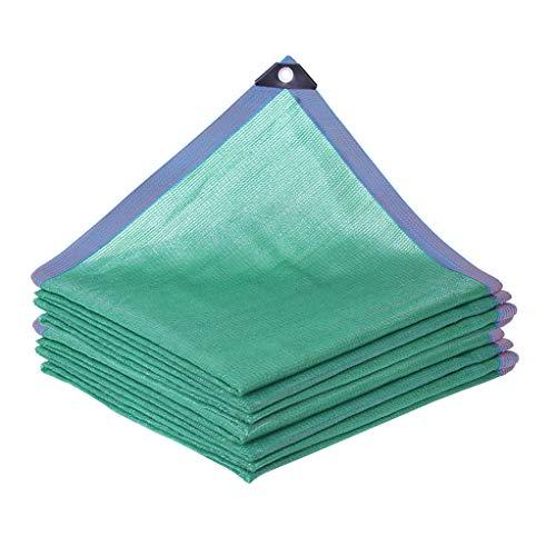 AICN 85% Beschattungsnetz/Sonnenschutz Im Freien Sonnennetz Doppeldrahtkante mit Perforation / 8-polige Verschlüsselung Verdickungsschattierungsnetz/UV-Schutznetz Für Garten/Pflanze/Gewächshaus