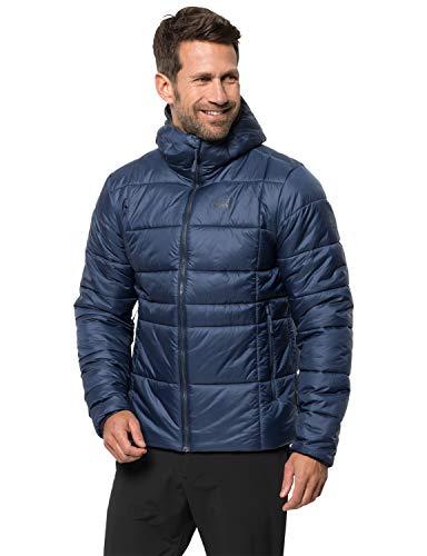 Jack Wolfskin Herren Argon THERMIC Jacket M Wetterschutzjacke, Dark Indigo, XL
