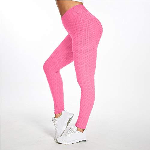 APWIN Mallas Deportivas Push Up de Cintura Alta Sin Costuras para Mujer, Pantalones de Yoga Superelásticos para Entrenamiento en Gimnasio, Mallas Deportivas para Correr