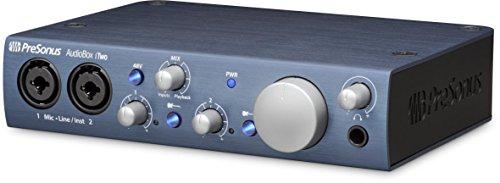 PreSonus AudioBox iTwo 2x2 USB/iPad Audio Interface with Studio One Artist and Ableton Live Lite DAW Recording Software