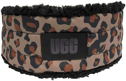 UGG Damen Stirnband aus Stoff und Sherpa-Stoff. - Braun - Einheitsgröße