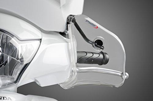 PUIG - 6855W : Juego Manoplas Cubre Manos Scooter unive Color Transparente : Beta Suzuki SYM