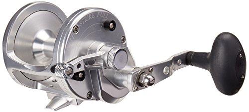 Avet 6.0:1 Lever Drag Conventional Reel, Silver, 280 yd/30 lb